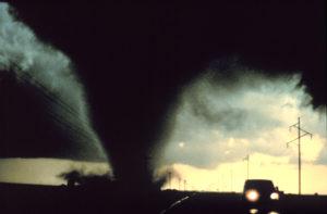 driving in tornado