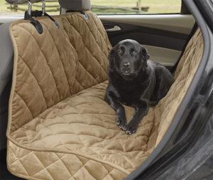 dog hammock to keep car clean