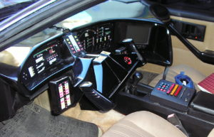 high tech dashboard